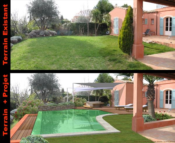 Piscines dessin de piscine forme libre d coration for Construction piscine 10m2